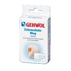 Gehwol Zehenschutz-Ring - Кольца для пальцев защитные малые 2 шт1*27513Кольца для пальцев защитные малые Геволь (Gehwol Zehenschutz-Ring) - мягкое, не приносящее беспокойства кольцо из пено-материала, применяемое при возникновении натертых мест на пальцах и между пальцами, сдавливании и неправильном положении пальцев ног.Медицинский продукт.Назначение: Защищает от болезненного сдавливания мозоли на пальцах и между ними, костные наросты.Количество: 2 шт