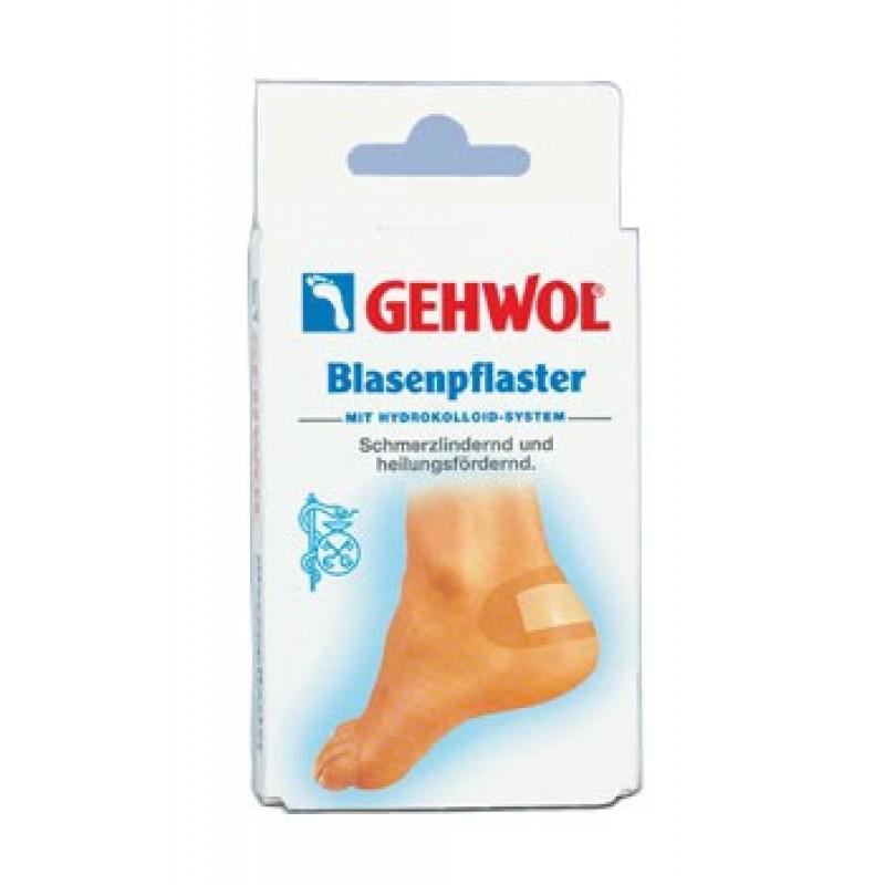 Gehwol Blasenpflaster - Заживляющий пластырь 6 шт1*27620Заживляющий пластырь Геволь (Gehwol Blasenpflaster) с гидроколлоидной системой способствует естественному процессу заживления волдырей, натертостей и повреждений кожных покровов.Медицинский продукт.Назначение: применяется для фиксации и ускорения процесса заживления натертостей, волдырей и повреждений кожи ног.Количество: 6 шт
