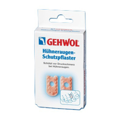 Gehwol Huhneraugen-Pflaster  Мозольный пластырь 9 шт - Перевязочные материалы