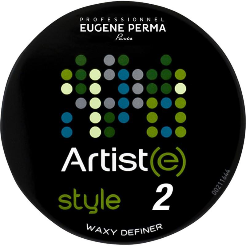 Eugene Perma Artiste Style Waxy Definer Воск для создания акцентов в прическе21039767Водорастворимый воск более легкой текстуры, чем классический воск. Придает блеск и четкость. Обволакивает волосы, не утяжеляя их. Фиксация с эффектом обволакивания. Максимальный блеск.