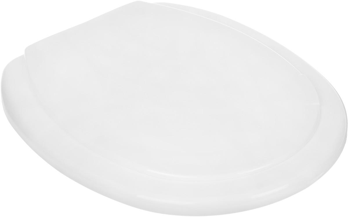 Сидение для унитаза Vanstore Слим, цвет: белый, 40,5 х 36 х 3,5 см800-25Сиденье для унитаза Vanstore Слим,изготовленное из пластика (дюропласт) - этокомфорт и гигиеническая чистота на достойномуровне. Прочный и практичный дюропласт нежелтеет со временем, не поддаетсяповреждениям, царапинам и вмятинам. Сиденьеимеет антибактериальное покрытие. Оснащенорегулируемым креплением.Регулируемый размер сиденья: 11 - 21 см. Общий размер сиденья: 40,5 х 36 х 3,5 см.Размер крышки: 30 х 37 см.