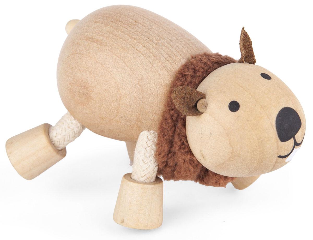 AnaMalz Фигурка деревянная Вомбат фигурки игрушки anamalz anamalz бурый мишка