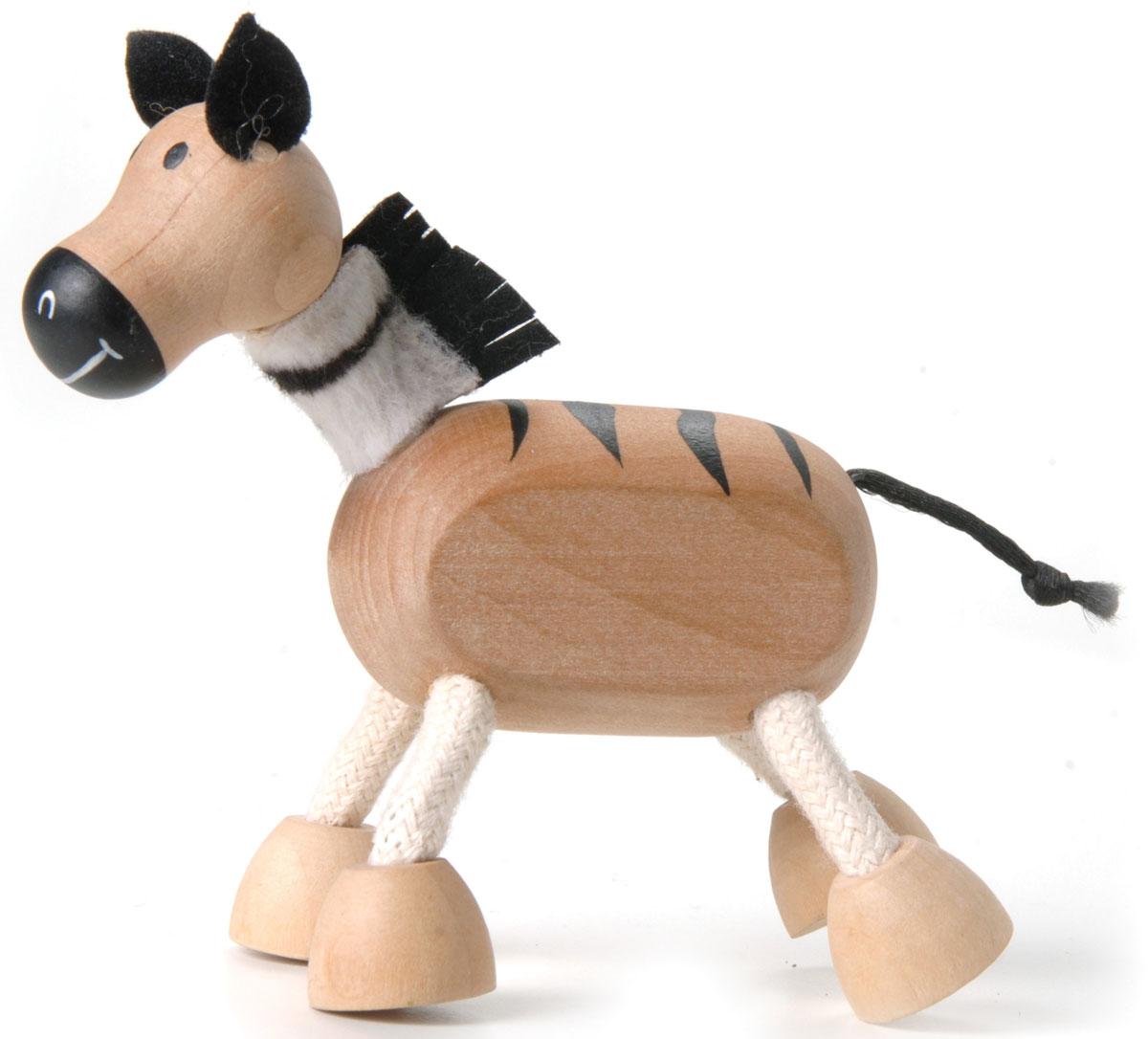 AnaMalz Фигурка деревянная Зебра фигурки игрушки anamalz anamalz бурый мишка