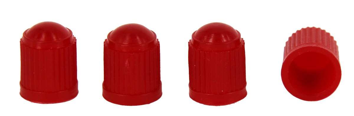 МастерПроф Набор пластиковых колпачков для ниппеля колеса, цвет: красныйАС.010010Колпачки пластиковые Masterprof защищают ниппель колеса от грязи/воды и пыли. Имеют эстетичный внешний вид. Не закисают.