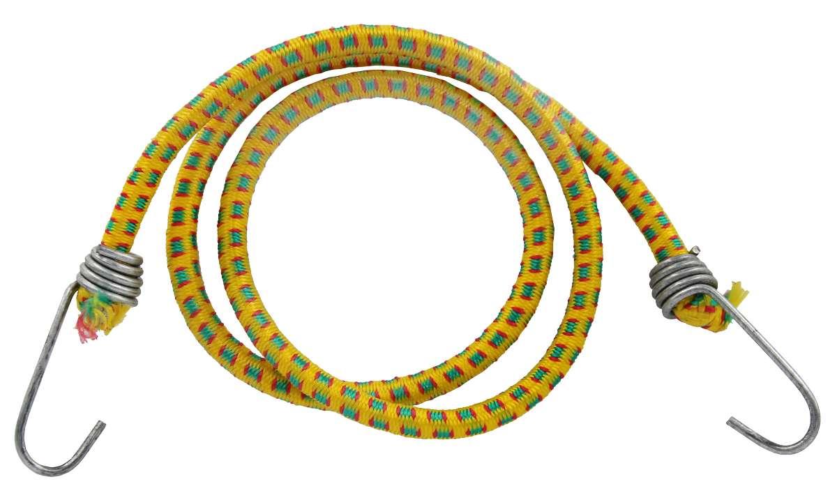 Резинка багажная с крючками 6 мм х 110 см МастерПроф. АС.020052, МастерПроф / MasterProf