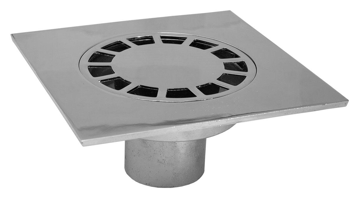 Трап металлический прямой 15х15 смTulipsИС.110002Трап металлический прямой Tulips (Нидерланды) предназначен для приема и отвода сточных вод в систему канализации. Устанавливается в душевых и там, где организован слив воды прямо на пол. Имеет нижний отвод для подсоединения канализационной трубы диаметром 50 мм.Состав: цинковый сплав с хромированным покрытием.Размеры: длина 150 мм, ширина 150 мм, высота 66 мм.Производитель: Нидерланды.
