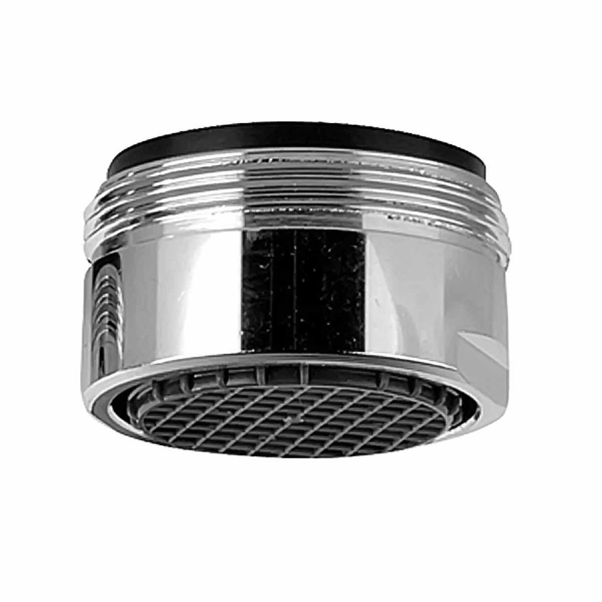 """Аэратор REMER """"Premium"""" предназначен для насыщения воздухом водной струи, выходящей из смесителя.Благодаря аэратору вода из под крана выходит ровной и мягкой струей. Это не только придает приятное ощущение для рук и предотвращает разбрызгивание, но и одновременно способствует сокращению потребления воды.  Резьба: М 24.  Тип резьбы: наружная.  Материал корпуса: хромированная латунь.  Материал сетки: нержавеющая сталь.  Материал внутренней части: сверхпрочный инновационный пластик."""