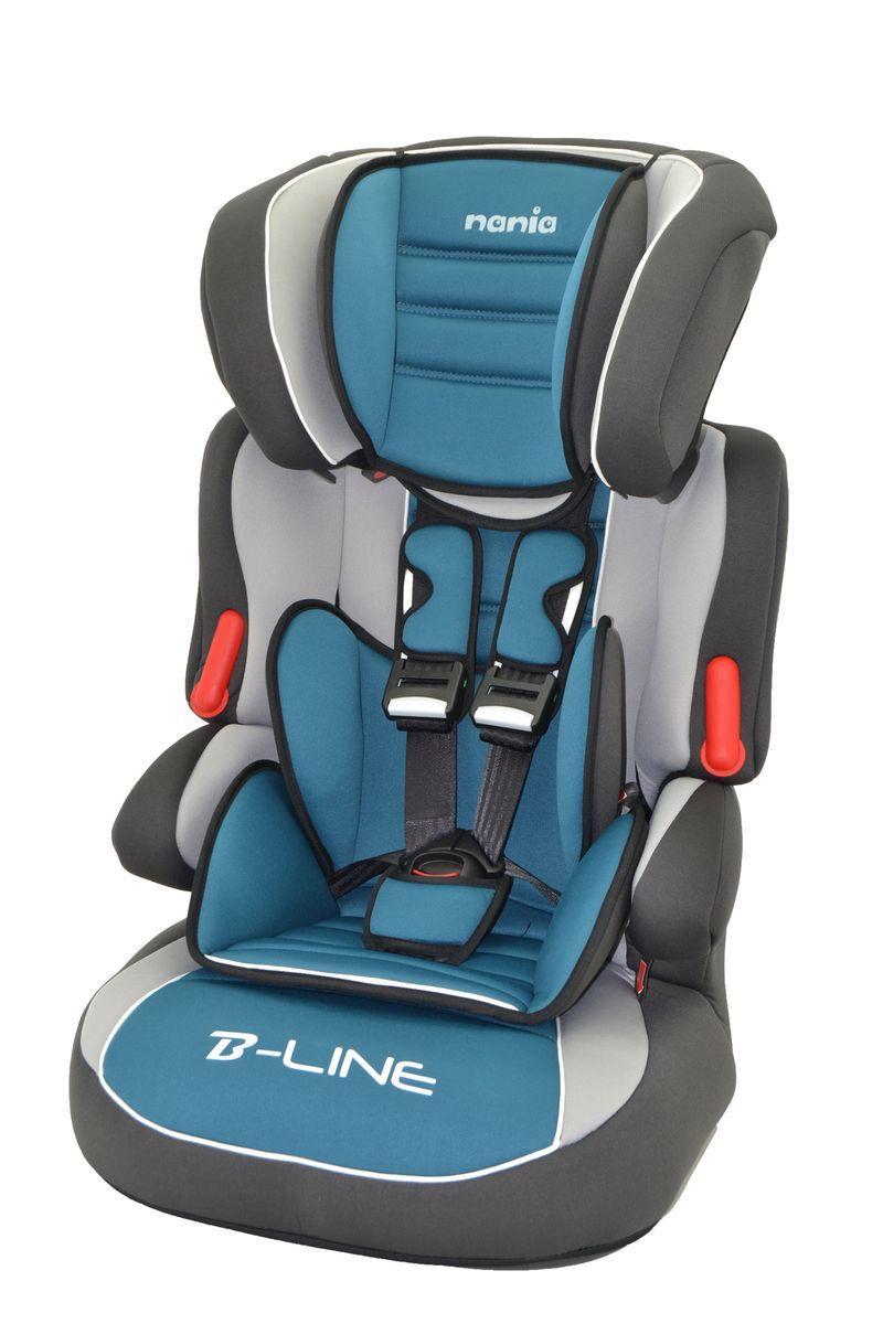 Nania Автокресло Beline SP LX agora petrole583009Автокресло Nania Beline SP относится кгруппе 1/2/3, от 8 месяцев до 12 лет (9 - 36 кг). Соответствует стандартам ECE R44/04.Nania Beline SP - это два кресла в одном. Оно охватывает все возрастные группы в возрасте примерно от 8 месяцев до 12 лет (когда ребенка в автомобиле уже можно перевозить без специального удерживающего устройства) благодарярегулируемой по высоте спинке. Когда ребенок подрастет, спинку автокресла можно отстегнуть и использовать только бустер. Автокресло nania Beline SP было разработано согласно самым жестким требованиям безопасности, а также учитывая ортопедические факторы: мягкая приятная на ощупь обивка и анатомичная форма. Ваш ребенок будет чувствовать себя комфортно даже в дальних поездках.Широкие мягкие подголовник, спинка и подлокотники обеспечат дополнительный комфорт и безопасность маленького пассажира даже в случае бокового столкновения. Высоту подголовника можно регулировать по высоте, кресло растет вместе с Вашим ребенком. Все тканевые части легко снимаются и стираются.Серия LUXE - для самых требовательных. Кресло nania Beline SP Luxe имеет дополнительную подушку в районе таза, а обивка - больше поролона, что обеспечит ребенку максимальный комфорт.