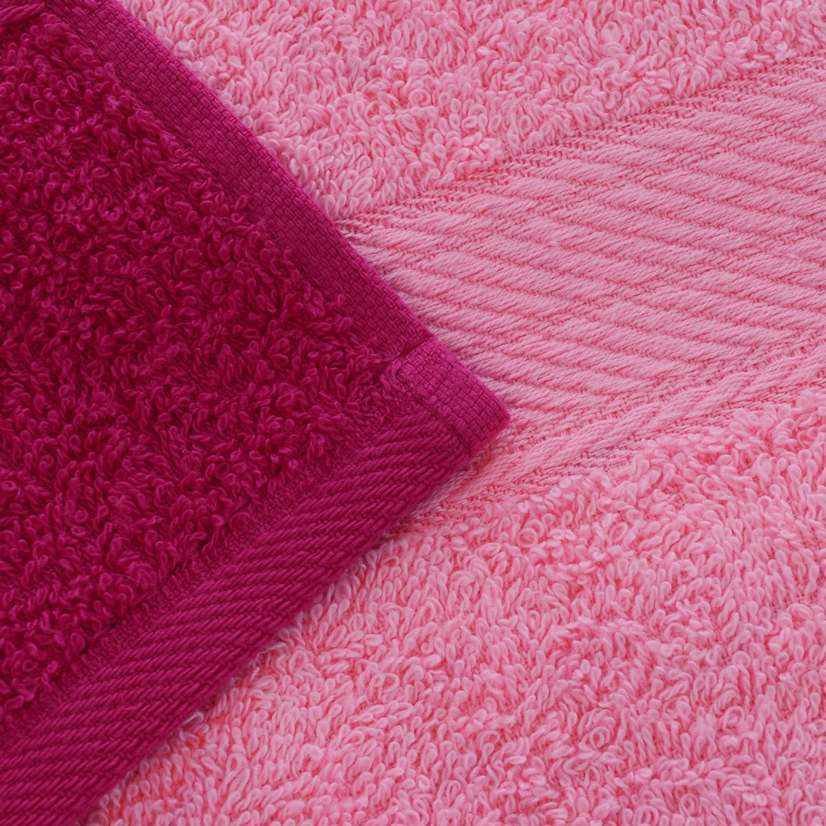 """Набор """"Aisha Home Textile"""" состоит  из двух полотенец 50 х 90 см  и двух банных 70 х 140 см.  Полотенца выполнены из  натурального 100% хлопка  и махровой ткани.  Изделия отлично впитывают влагу,  быстро сохнут, сохраняют яркость  цвета и не теряют формы даже  после многократных стирок. Полотенца """"Aisha Home Textile"""" очень  практичны и неприхотливы в уходе.  Комплектация: 4 шт."""