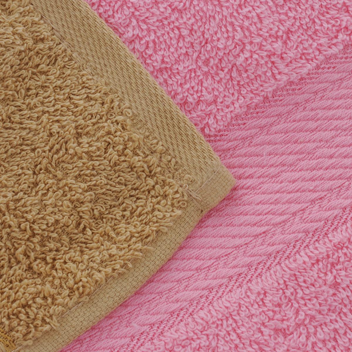 """Набор """"Aisha Home Textile"""" состоит из двух полотенец, размером 50 х 90 см, и двух банных, размером 70 х 140 см. Полотенца выполнены из натурального 100% хлопка и махровой ткани. Изделия отлично впитывают влагу, быстро сохнут, сохраняют яркость цвета и не теряют формы даже после многократных стирок. Полотенца """"Aisha Home Textile"""" очень практичны и неприхотливы в уходе.  Комплектация: 4 шт."""