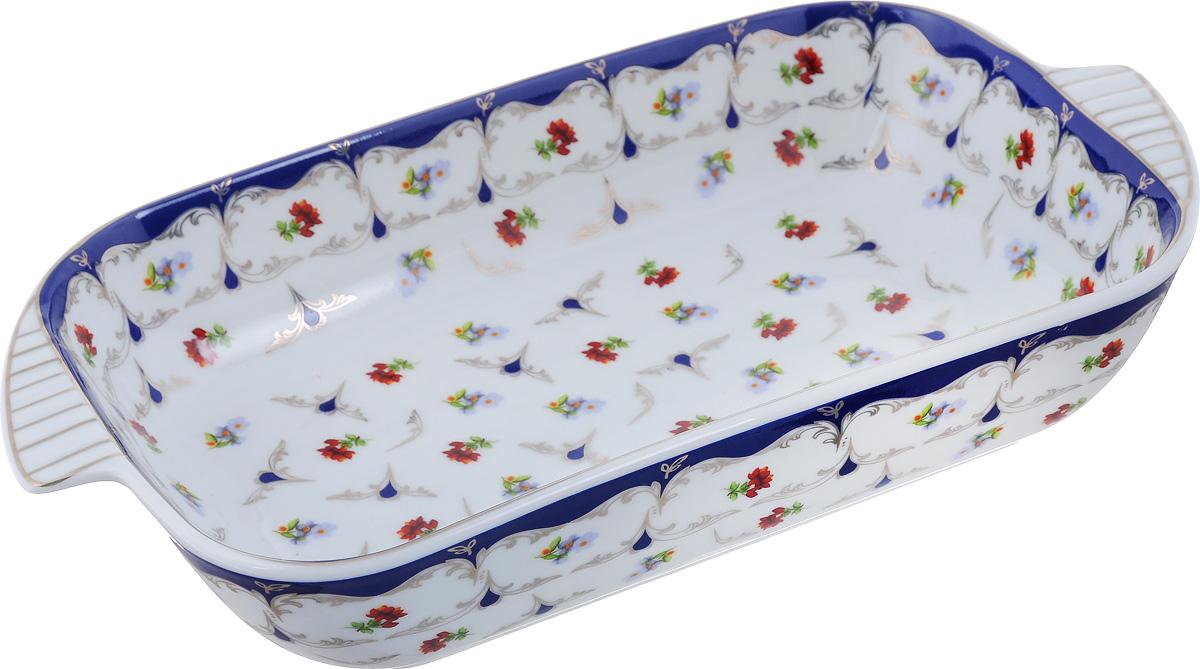 Шубница Elan Gallery Цветочек, 900 мл503532Шубница Elan Gallery Цветочек, выполненная из высококачественной керамики, идеальное блюдо для сервировки традиционного салата Сельдь под шубой или любого другого слоеного салата. Компактное, аккуратное блюдо с ручками для удобства станет незаменимым при любом застолье. Не рекомендуется применять абразивные моющие средства. Не использовать в микроволновой печи.Объем: 500 мл.Размер блюда (с учетом ручек): 28 см х 15 см.