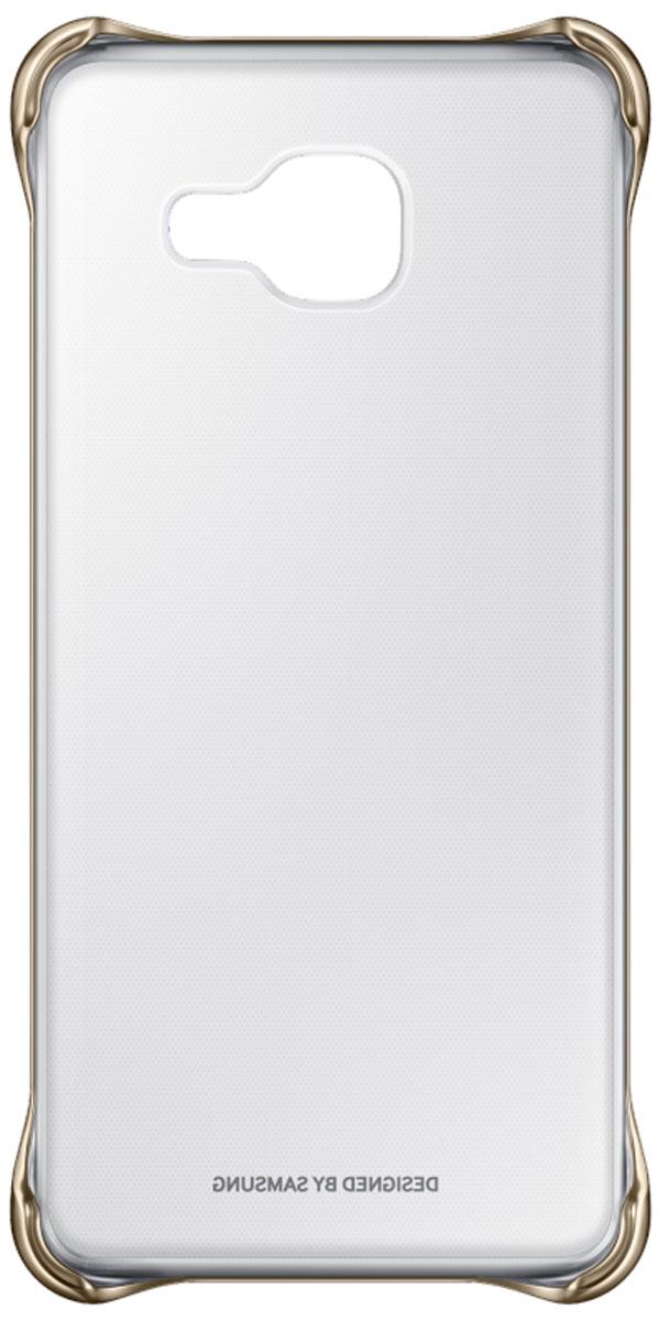 Samsung EF-QA310C Clear Cover чехол для Galaxy A3 (2016), Gold samsung galaxy a3 2016 sm a310f pink gold