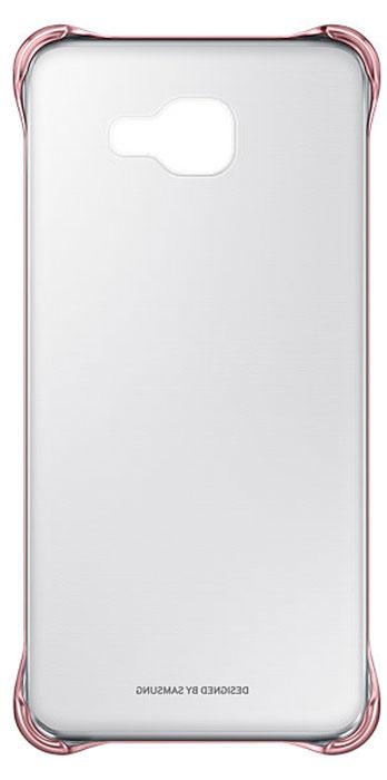 Samsung EF-QA710C Clear Cover чехол для Galaxy A7 (2016), PinkEF-QA710CZEGRUЧехол Samsung Clear Cover подходит для модели смартфона Samsung Galaxy A7 (SM-A710F). Оригинальный аксессуар плотно прилегает к корпусу устройства и защищает от механических повреждений и пыли. Прозрачная поверхность чехла с цветной окантовкой сохраняет оригинальный внешний вид Galaxy A7 (SM-A710F). Чехол сделан из прочного поликарбоната, легко надевается и снимается. При использовании чехла в паре со смартфоном все функциональные порты и клавиши остаются доступными.