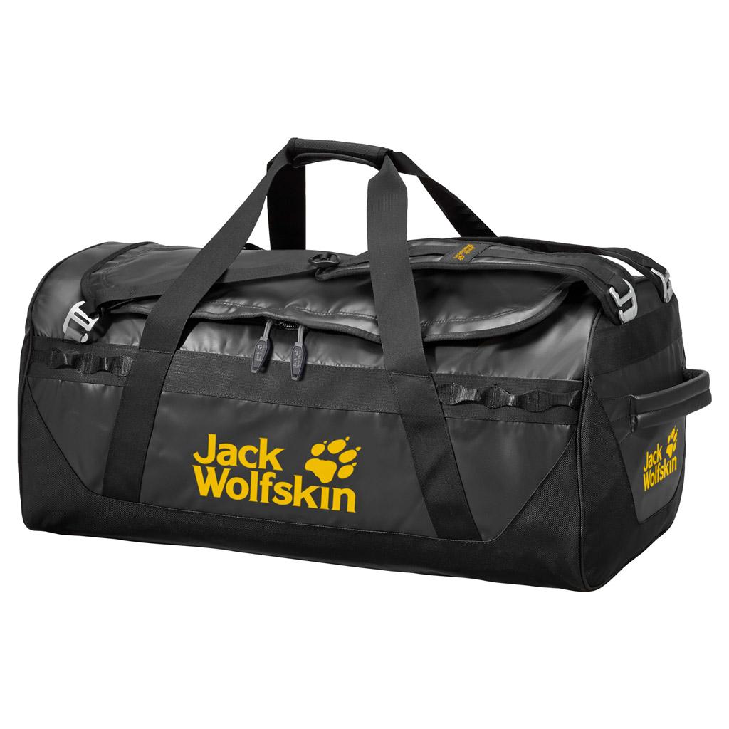 Сумка дорожная Jack Wolfskin Expedition Trunk 65, цвет: черный. 2001531-6000 рюкзак jack wolfskin dayton цвет черный 2002481 6000