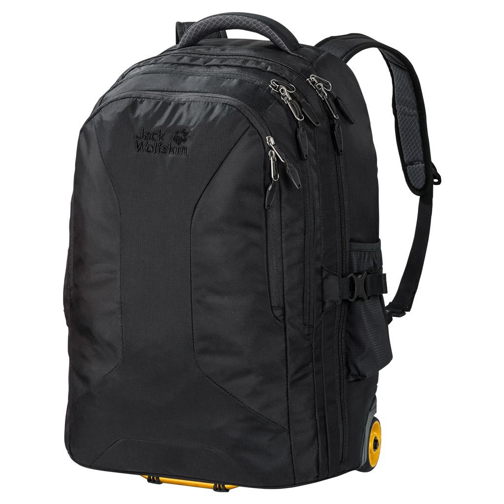 Рюкзак на колесах Jack Wolfskin Weekender 35, цвет: черный. 2004841-6000 снуд jack wolfskin jack wolfskin ja021guwha98