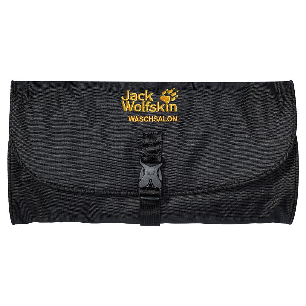 Нессесер Jack Wolfskin Waschsalon, цвет: черный. 86130-600 рюкзак jack wolfskin dayton цвет черный 2002481 6000