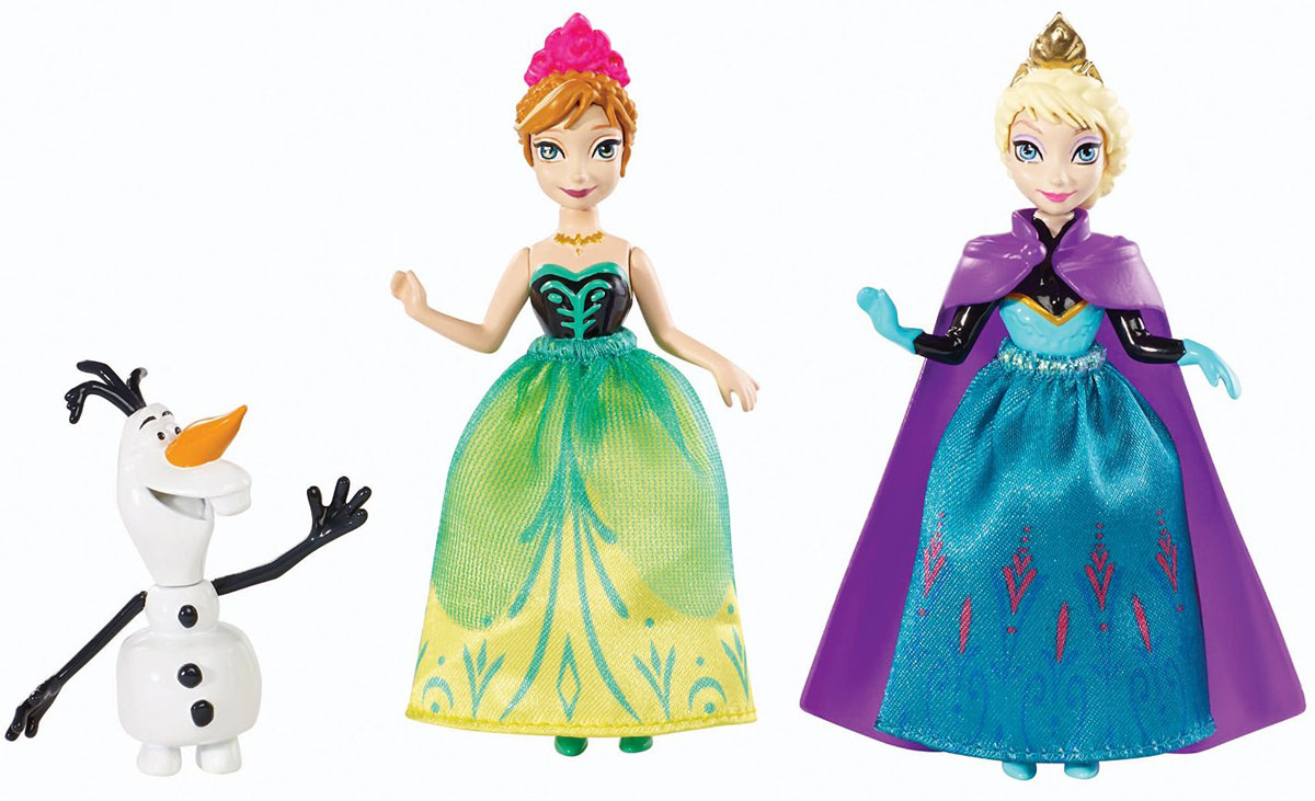 Disney Frozen Игровой набор Анна Эльза и Олаф Y9975 disney frozen игровой набор олаф и холодное торжество
