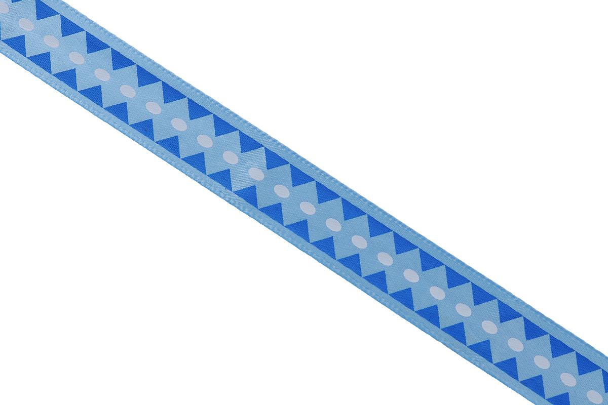 """Атласная лента Dekor Line """"Ромбы"""" выполнена из высококачественного полиэстера. Область применения атласной ленты весьма широка.  Лента предназначена для оформления цветочных букетов, подарочных коробок, пакетов. Кроме  того, она с успехом применяется для художественного оформления витрин, праздничного  оформления помещений, изготовления искусственных цветов. Ее также можно использовать для  творчества в различных техниках, таких как скрапбукинг, оформление аппликаций, для украшения  фотоальбомов, подарков, конвертов, фоторамок, открыток и прочего. Ширина ленты: 2,5 см. Длина ленты: 3 м."""