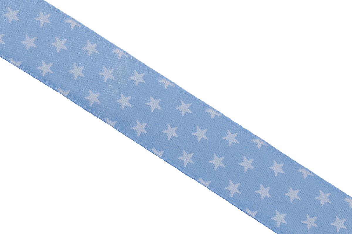 Лента атласная Dekor Line Звездочки, цвет: голубой, белый, 1,5 х 300 см7710558_голубойАтласная лента Dekor Line Звездочки выполнена из высококачественного полиэстера. Область применения атласной ленты весьма широка. Лента предназначена для оформления цветочных букетов, подарочных коробок, пакетов. Кроме того, она с успехом применяется для художественного оформления витрин, праздничного оформления помещений, изготовления искусственных цветов. Ее также можно использовать для творчества в различных техниках, таких как скрапбукинг, оформление аппликаций, для украшения фотоальбомов, подарков, конвертов, фоторамок, открыток и прочего.Ширина ленты: 1,5 см.Длина ленты: 3 м.