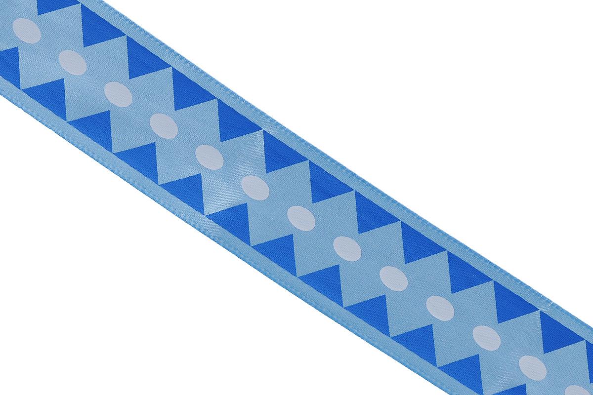 Лента атласная Dekor Line Ромбы, цвет: синий, голубой, 1,5 х 300 см7710559_синийАтласная лента Dekor Line Ромбы выполнена из высококачественного полиэстера. Область применения атласной ленты весьма широка. Лента предназначена для оформления цветочных букетов, подарочных коробок, пакетов. Кроме того, она с успехом применяется для художественного оформления витрин, праздничного оформления помещений, изготовления искусственных цветов. Ее также можно использовать для творчества в различных техниках, таких как скрапбукинг, оформление аппликаций, для украшения фотоальбомов, подарков, конвертов, фоторамок, открыток и прочего.Ширина ленты: 1,5 см.Длина ленты: 3 м.