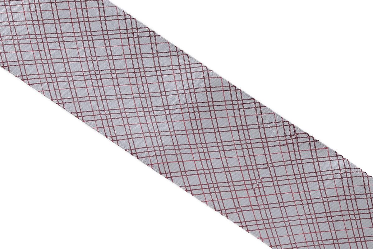 Лента атласная Dekor Line Пересечение, цвет: светло-серый, темно-розовый, 4,5 х 300 см7710580_розовыйАтласная лента Dekor Line Пересечение выполнена из высококачественного полиэстера. Область применения атласной ленты весьма широка. Лента предназначена для оформления цветочных букетов, подарочных коробок, пакетов. Кроме того, она с успехом применяется для художественного оформления витрин, праздничного оформления помещений, изготовления искусственных цветов. Ее также можно использовать для творчества в различных техниках, таких как скрапбукинг, оформление аппликаций, для украшения фотоальбомов, подарков, конвертов, фоторамок, открыток и прочего.Ширина ленты: 4,5 см.Длина ленты: 3 м.