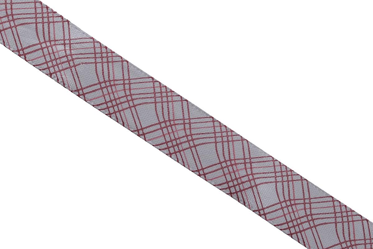 Лента атласная Dekor Line Пересечение, цвет: светло-серый, темно-розовый, 1,5 х 300 см7710553_розовыйАтласная лента Dekor Line Пересечение выполнена из высококачественного полиэстера. Область применения атласной ленты весьма широка. Лента предназначена для оформления цветочных букетов, подарочных коробок, пакетов. Кроме того, она с успехом применяется для художественного оформления витрин, праздничного оформления помещений, изготовления искусственных цветов. Ее также можно использовать для творчества в различных техниках, таких как скрапбукинг, оформление аппликаций, для украшения фотоальбомов, подарков, конвертов, фоторамок, открыток и прочего.Ширина ленты: 1,5 см.Длина ленты: 3 м.