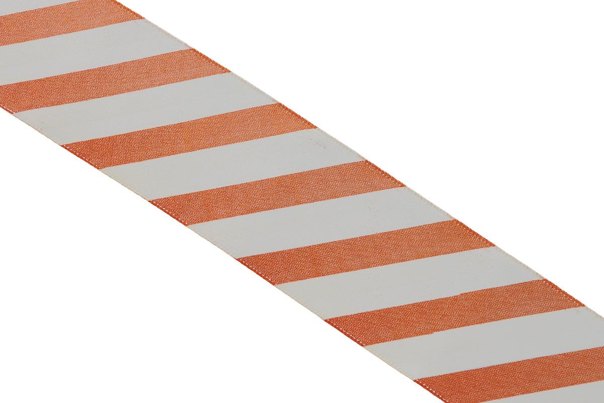 Лента атласная Dekor Line Диагональ, цвет: оранжевый, белый, 4,5 х 300 см14563-12Атласная лента Dekor Line Диагональ выполнена из высококачественного полиэстера. Область применения атласной ленты весьма широка.Лента предназначена для оформления цветочных букетов, подарочных коробок, пакетов. Крометого, она с успехом применяется для художественного оформления витрин, праздничногооформления помещений, изготовления искусственных цветов. Ее также можно использовать длятворчества в различных техниках, таких как скрапбукинг, оформление аппликаций, для украшенияфотоальбомов, подарков, конвертов, фоторамок, открыток и прочего. Ширина ленты: 4,5 см. Длина ленты: 3 м.