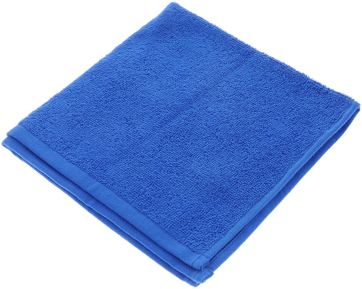 Полотенце махровое Aisha Home Textile, цвет: синий, 40 х 40 смУзТ-МПБ-005-08-19Махровое полотенце Aisha Home Textile выполнено из натуральной махровой ткани (100% хлопок). Изделие отлично впитывает влагу, быстро сохнет, сохраняет яркость цвета и не теряет форму даже после многократных стирок. Полотенце очень практично и неприхотливо в уходе. Оно создаст прекрасное настроение не только в ванной комнате, но и в кухне.Рекомендации по уходу:- режим стирки при 60°C,- гладить при температуре 150°C, - химчистка не допускается,- отбеливание запрещено.
