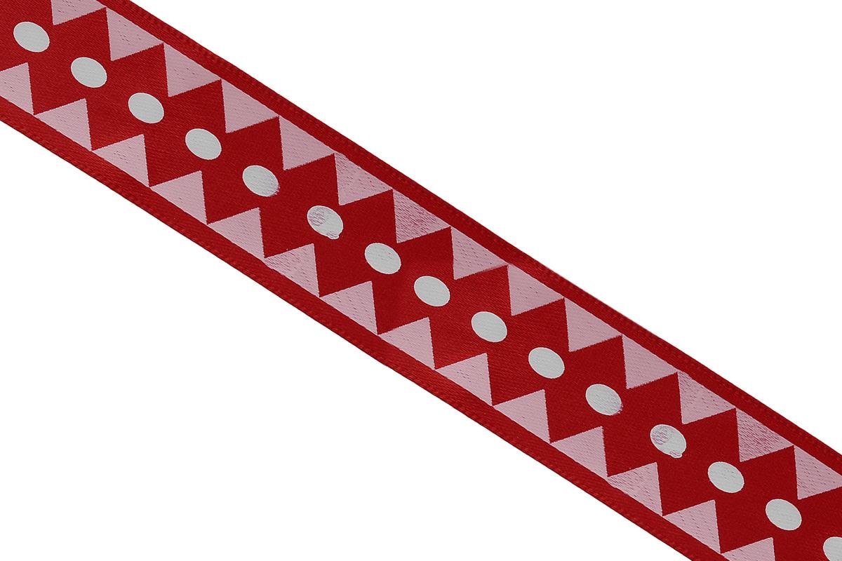 Лента атласная Dekor Line Ромбы, цвет: красный, розовый, 1,5 х 300 см7709008_красныйАтласная лента Dekor Line Ромбы выполнена из высококачественного полиэстера. Область применения атласной ленты весьма широка.Лента предназначена для оформления цветочных букетов, подарочных коробок, пакетов. Крометого, она с успехом применяется для художественного оформления витрин, праздничногооформления помещений, изготовления искусственных цветов. Ее также можно использовать длятворчества в различных техниках, таких как скрапбукинг, оформление аппликаций, для украшенияфотоальбомов, подарков, конвертов, фоторамок, открыток и прочего. Ширина ленты: 1,5 см. Длина ленты: 3 м.