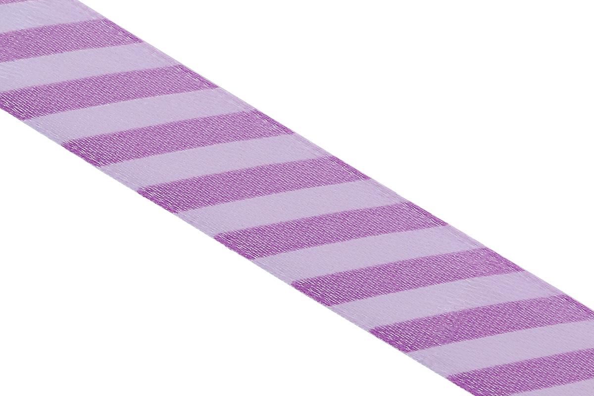 Лента атласная Dekor Line Диагональ, цвет: фиолетовый, сиреневый, 1,5 х 300 см7710552_фиолетовыйАтласная лента Dekor Line Диагональ выполнена из высококачественного полиэстера. Область применения атласной ленты весьма широка. Лента предназначена для оформления цветочных букетов, подарочных коробок, пакетов. Кроме того, она с успехом применяется для художественного оформления витрин, праздничного оформления помещений, изготовления искусственных цветов. Ее также можно использовать для творчества в различных техниках, таких как скрапбукинг, оформление аппликаций, для украшения фотоальбомов, подарков, конвертов, фоторамок, открыток и прочего.Ширина ленты: 1,5 см.Длина ленты: 3 м.