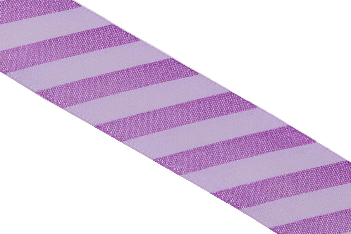 Лента атласная Dekor Line Диагональ, цвет: фиолетовый, сиреневый, 2,5 х 300 см4610009211145Атласная лента Dekor Line Диагональ выполнена из высококачественного полиэстера. Область применения атласной ленты весьма широка.Лента предназначена для оформления цветочных букетов, подарочных коробок, пакетов. Крометого, она с успехом применяется для художественного оформления витрин, праздничногооформления помещений, изготовления искусственных цветов. Ее также можно использовать длятворчества в различных техниках, таких как скрапбукинг, оформление аппликаций, для украшенияфотоальбомов, подарков, конвертов, фоторамок, открыток и прочего. Ширина ленты: 2,5 см. Длина ленты: 3 м.