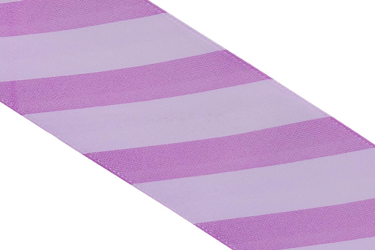 Лента атласная Dekor Line Диагональ, цвет: фиолетовый, сиреневый, 4,5 х 300 см7710579_фиолетовыйАтласная лента Dekor Line Диагональ выполнена из высококачественного полиэстера. Область применения атласной ленты весьма широка. Лента предназначена для оформления цветочных букетов, подарочных коробок, пакетов. Кроме того, она с успехом применяется для художественного оформления витрин, праздничного оформления помещений, изготовления искусственных цветов. Ее также можно использовать для творчества в различных техниках, таких как скрапбукинг, оформление аппликаций, для украшения фотоальбомов, подарков, конвертов, фоторамок, открыток и прочего.Ширина ленты: 4,5 см.Длина ленты: 3 м.