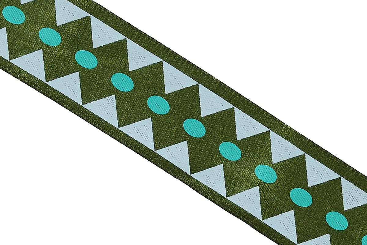 Лента атласная Dekor Line Ромбы, цвет: темно-зеленый, зеленый, 2,5 х 300 см7710573_зеленыйАтласная лента Dekor Line Ромбы выполнена из высококачественного полиэстера. Область применения атласной ленты весьма широка. Лента предназначена для оформления цветочных букетов, подарочных коробок, пакетов. Кроме того, она с успехом применяется для художественного оформления витрин, праздничного оформления помещений, изготовления искусственных цветов. Ее также можно использовать для творчества в различных техниках, таких как скрапбукинг, оформление аппликаций, для украшения фотоальбомов, подарков, конвертов, фоторамок, открыток и прочего.Ширина ленты: 2,5 см.Длина ленты: 3 м.