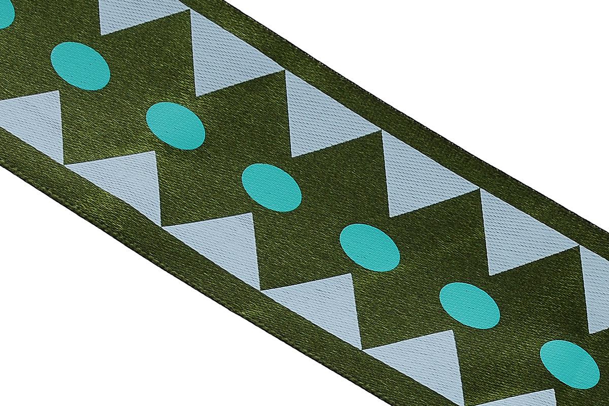 Лента атласная Dekor Line Ромбы, цвет: темно-зеленый, зеленый, 4,5 х 300 см695807_20Атласная лента Dekor Line Ромбы выполнена из высококачественного полиэстера. Область применения атласной ленты весьма широка.Лента предназначена для оформления цветочных букетов, подарочных коробок, пакетов. Крометого, она с успехом применяется для художественного оформления витрин, праздничногооформления помещений, изготовления искусственных цветов. Ее также можно использовать длятворчества в различных техниках, таких как скрапбукинг, оформление аппликаций, для украшенияфотоальбомов, подарков, конвертов, фоторамок, открыток и прочего. Ширина ленты: 4,5 см. Длина ленты: 3 м.