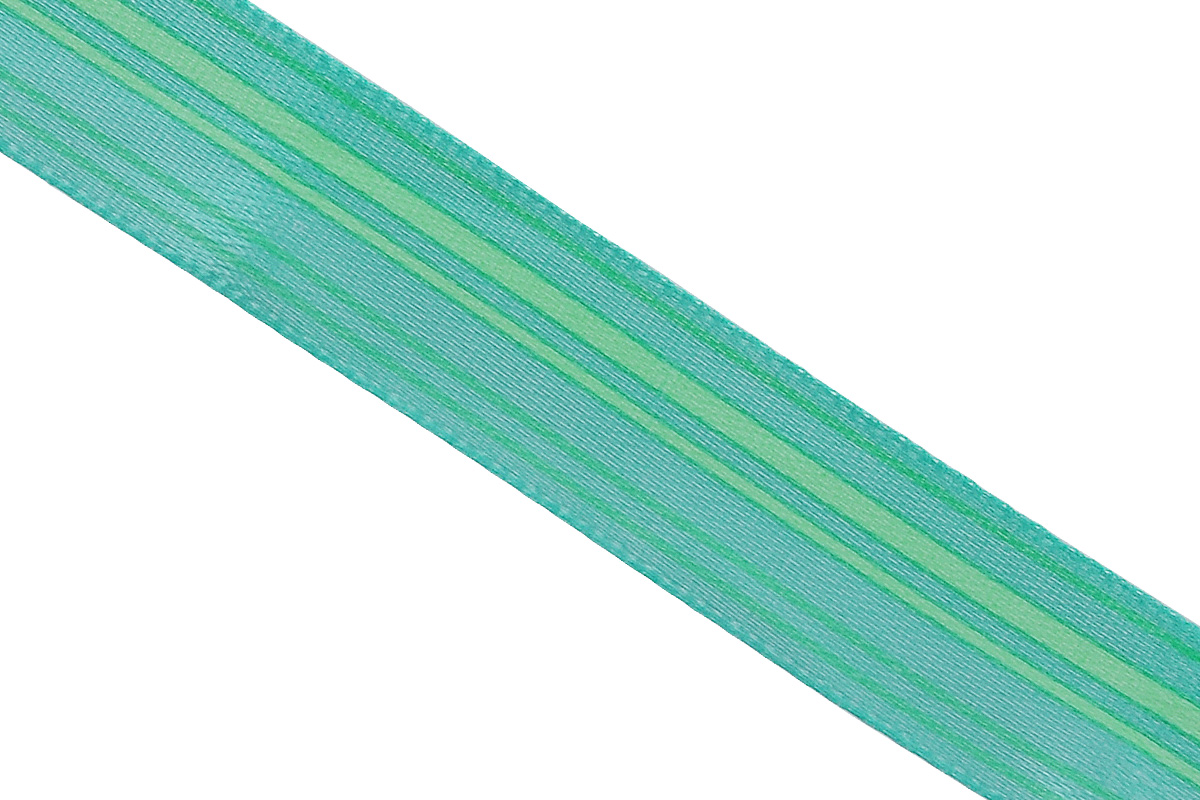 Лента атласная Dekor Line Горизонталь, цвет: зеленый, светло-зеленый, 1,5 х 300 см7710550_зеленыйАтласная лента Dekor Line Горизонталь выполнена из высококачественного полиэстера. Область применения атласной ленты весьма широка. Лента предназначена для оформления цветочных букетов, подарочных коробок, пакетов. Кроме того, она с успехом применяется для художественного оформления витрин, праздничного оформления помещений, изготовления искусственных цветов. Ее также можно использовать для творчества в различных техниках, таких как скрапбукинг, оформление аппликаций, для украшения фотоальбомов, подарков, конвертов, фоторамок, открыток и прочего.Ширина ленты: 1,5 см.Длина ленты: 3 м.