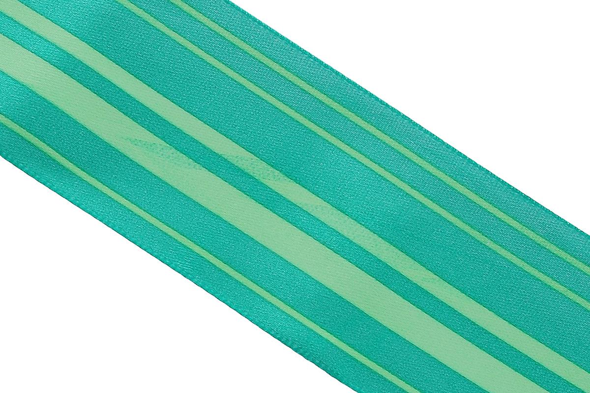 Лента атласная Dekor Line Горизонталь, цвет: зеленый, светло-зеленый, 4,5 х 300 см7710577_зеленыйАтласная лента Dekor Line Горизонталь выполнена из высококачественного полиэстера. Область применения атласной ленты весьма широка. Лента предназначена для оформления цветочных букетов, подарочных коробок, пакетов. Кроме того, она с успехом применяется для художественного оформления витрин, праздничного оформления помещений, изготовления искусственных цветов. Ее также можно использовать для творчества в различных техниках, таких как скрапбукинг, оформление аппликаций, для украшения фотоальбомов, подарков, конвертов, фоторамок, открыток и прочего.Ширина ленты: 4,5 см.Длина ленты: 3 м.