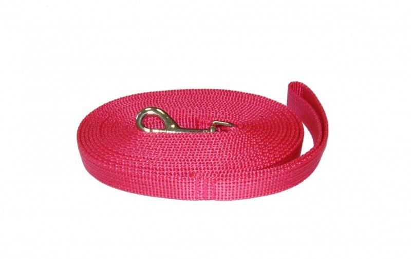 Поводок капроновый для собак Аркон, цвет: розовый, ширина 2 см, длина 7 мпк7м20Поводок для собак Аркон изготовлен из высококачественного цветного капрона и снабжен металлическим карабином. Изделие отличается не только исключительной надежностью и удобством, но и привлекательным современным дизайном.Поводок - необходимый аксессуар для собаки. Ведь в опасных ситуациях именно он способен спасти жизнь вашему любимому питомцу. Иногда нужно ограничивать свободу своего четвероногого друга, чтобы защитить его или себя от неприятностей на прогулке. Длина поводка: 7 м.Ширина поводка: 2 см.