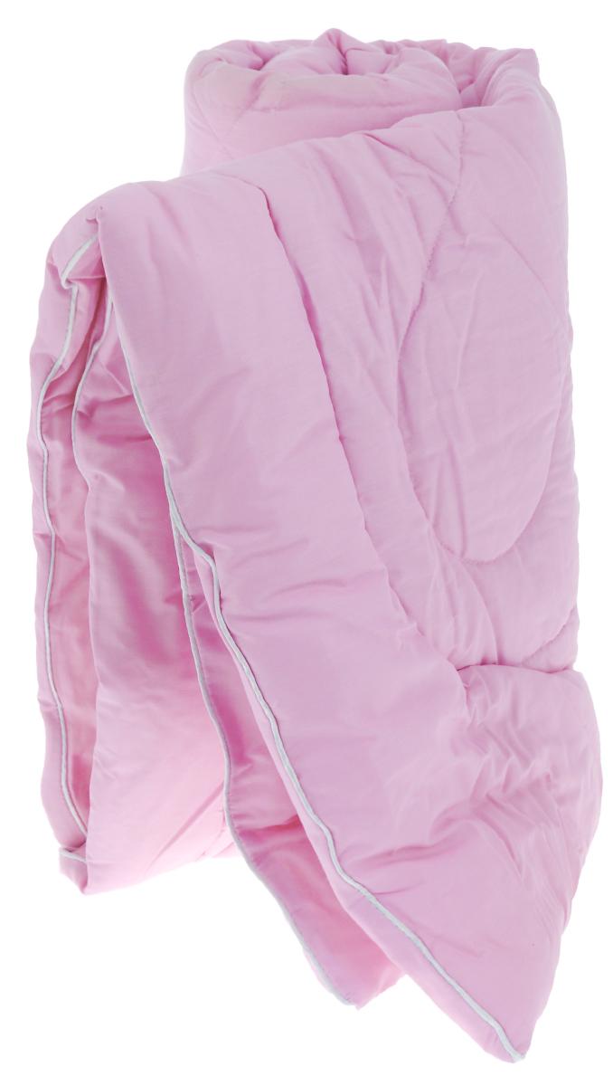 Одеяло Primavelle Bellissimo, наполнитель: волокно с экстрактом лаванды, цвет: розовый, 140 х 205 см126015202-26Одеяло Primavelle Bellissimo - это гармония стиля, комфорта и практичности для вашего дома. Чехол выполнен из хлопковой ткани (70% хлопок, 30% полиэстер). Наполнитель - волокно с экстрактом лаванды. Одеяло простегано, стежка равномерно удерживает наполнитель внутри. Волокно с экстрактом лаванды обладает успокаивающим эффектом, хорошей терморегуляцией и оказывает противовоспалительные и оздоравливающие свойства.