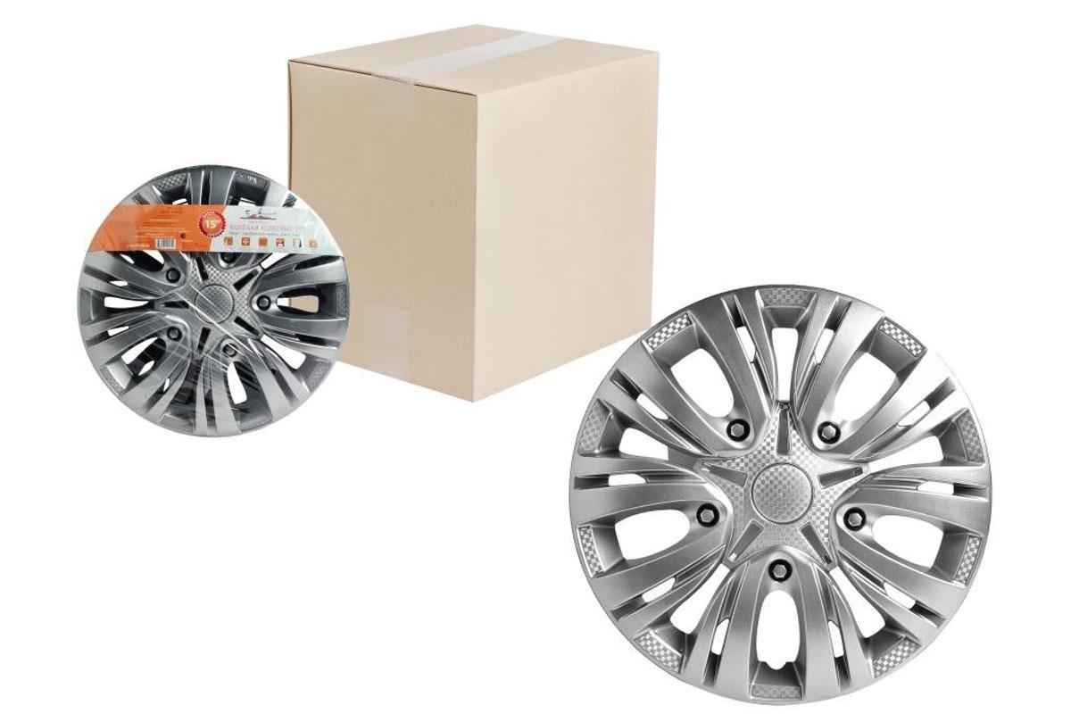 Купить Колпаки колесные Airline Лион , цвет: серебристый, 15 , 2 шт. AWCC-15-01