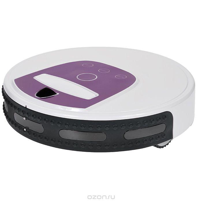 Xrobot XR-510D, White робот-пылесосXR-510DXrobot XR510D – самый красивый робот-пылесос из новой серии Xrobot XR510. Его отличают изысканный дизайн, удобство и функциональность. Этот суперсовременный робот-пылесос идеально очищает от пыли и сора любое напольное покрытие: паркет, ламинат, линолеум или керамическую плитку, а также превосходно убирает ковровые покрытия с высотой ворса от 0 до 4 см. Сенсорная панель управления на корпусе робота-пылесоса Xrobot XR510D позволяет легко и быстро запустить основные режимы работы устройства. Благодаря яркой индикации на корпусе робота-пылесоса, всегда и с любого расстояния видно в каком режиме работает пылесос.Встроенная ручка для переноски, позволяет одной рукой легко и быстро переместить устройство в необходимое место. Модель Xrobot XR510D оснащена аккумулятором повышенной емкости. Теперь максимальное время работы робота-пылесоса XR510D увеличилось до 150 минут. Xrobot XR510D оснащен интегрированным бампером с двумя рядами датчиков столкновения (более 500 пар датчиков), что делает траекторию движения устройства логически правильной и исключает столкновения с препятствиями. За счет пяти независимых пар датчиков движения вдоль стены, модель XR510D четко идентифицирует территорию уборки помещения и идеально убирает пыль и сор по периметру помещения вдоль плинтуса и из углов. Благодаря мощному вакуумному насосу, сила всасывания робота-пылесоса Xrobot XR510D достигает 60 Вт, что существенно улучшает качество уборки. Xrobot XR510D управляется с помощью новейших интеллектуальных программ, которые делают работу робота-пылесоса более рациональной и эффективной. Интеллектуальное регулирование силы всасывания, реализованное в модели XR510D, экономит 30-35% расхода заряда аккумулятора устройства. На более загрязненных участках пола сила всасывания робота-пылесоса XR510D увеличивается до 55 Вт, на менее загрязненной поверхности уменьшается. Рабочая мощность устройства при средней загрязненности поверхности пола составляет примерно 24 Вт.