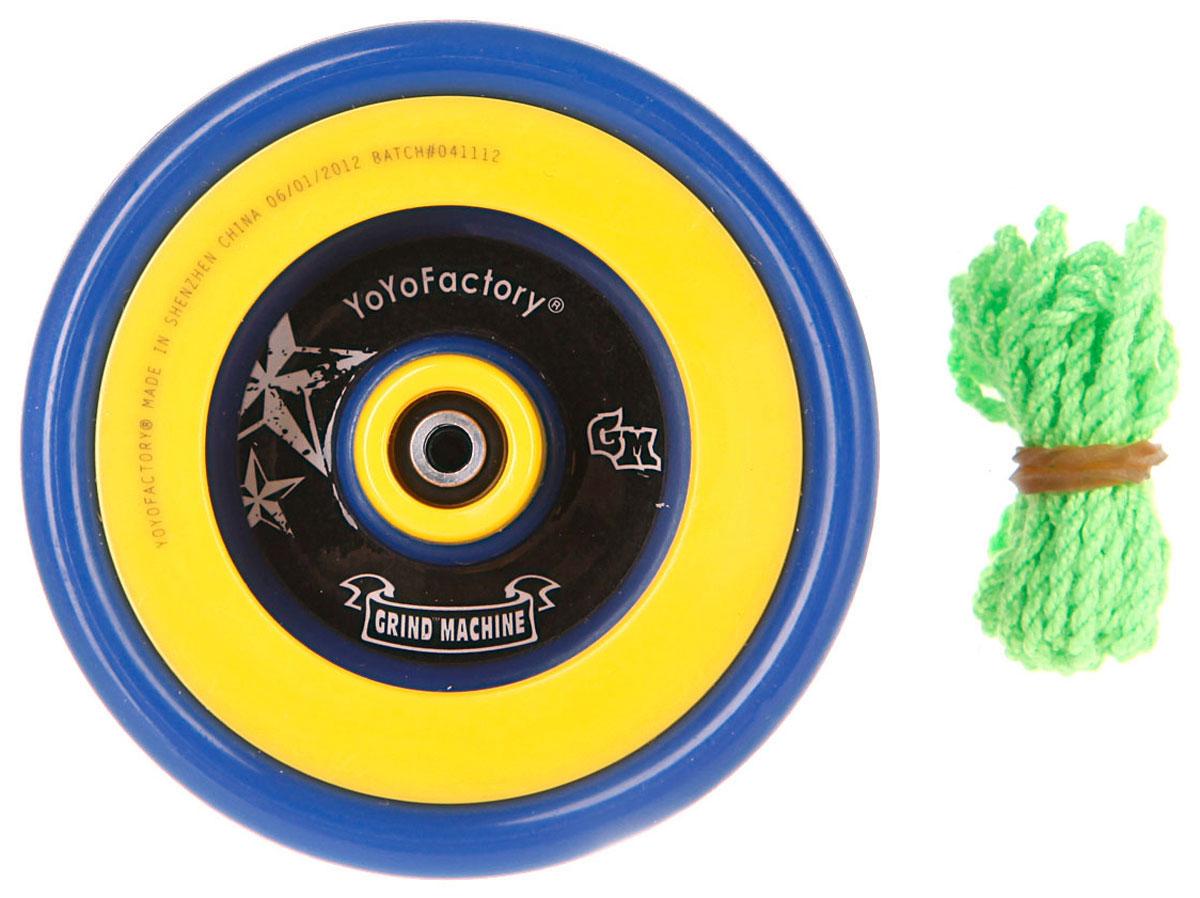 YoYoFactory Йо-йо PGM цвет синий желтый йо йо auldey