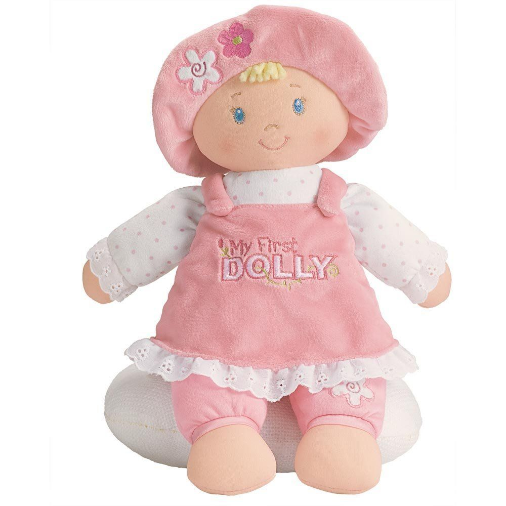 Gund Мягкая кукла My First Dolly Blonde мягкая игрушка gund doll berry sweet dolly 10 blonde doll