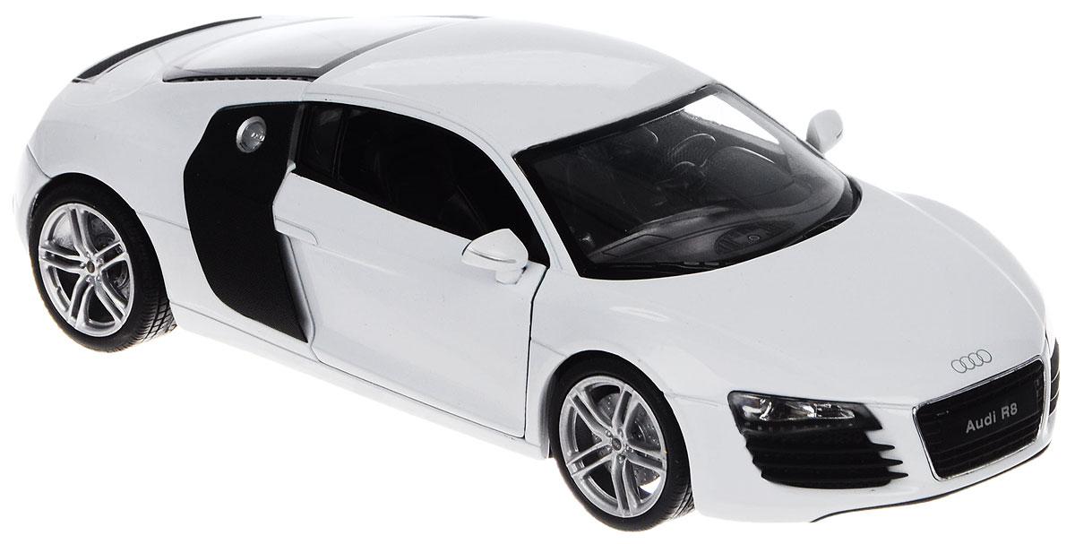 Welly Модель автомобиля Audi R8 V10 автомобиль welly audi r8 v10 1 24 красный