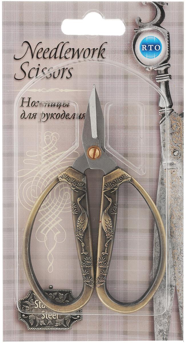 Ножницы для рукоделия RTO  Винтаж , длина 11,5 см. 10510 -  Канцелярские ножи и ножницы