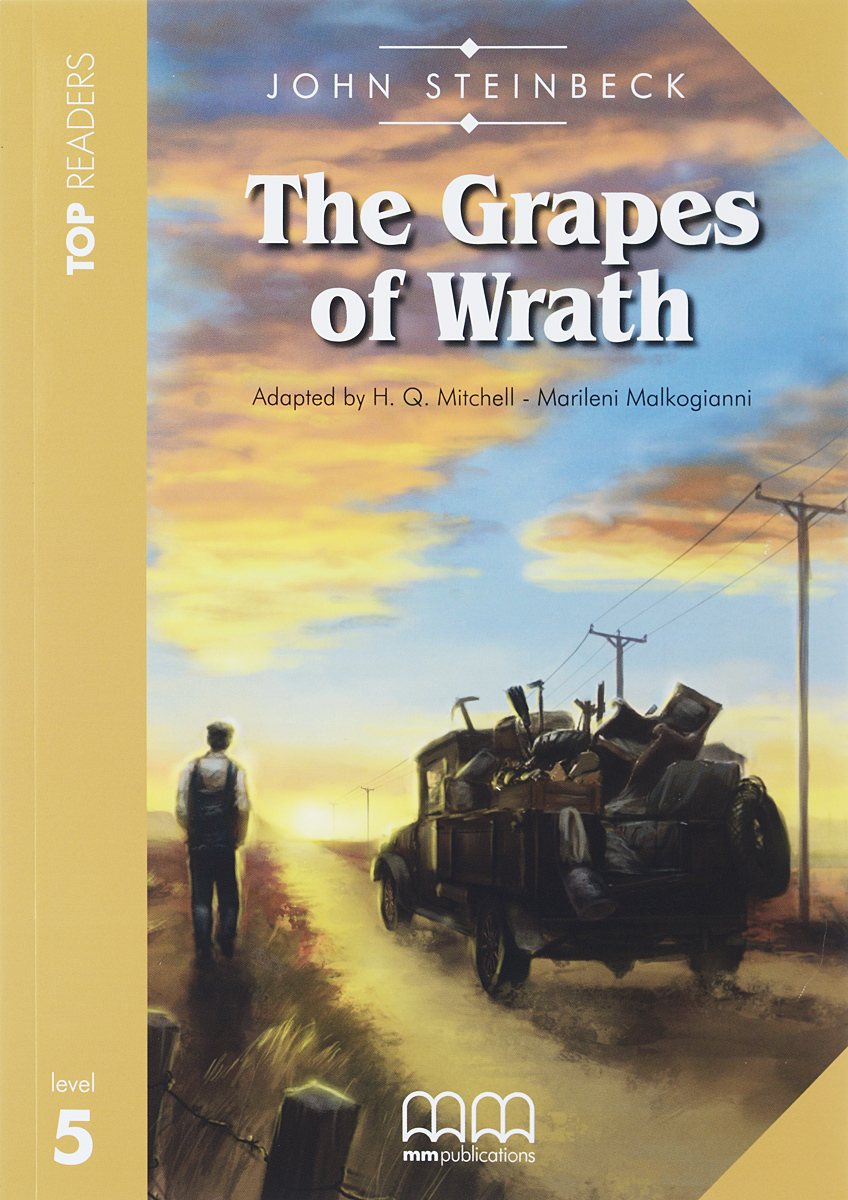 Grapes of Wrath: Student's Book: Level 5 (+ CD) merry team 6 activity book audio cd