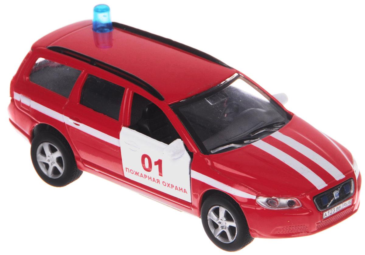 Пламенный мотор Машинка инерционная Volvo Пожарная охрана машина пламенный мотор дорожные работы со световыми и звуковыми эффектами