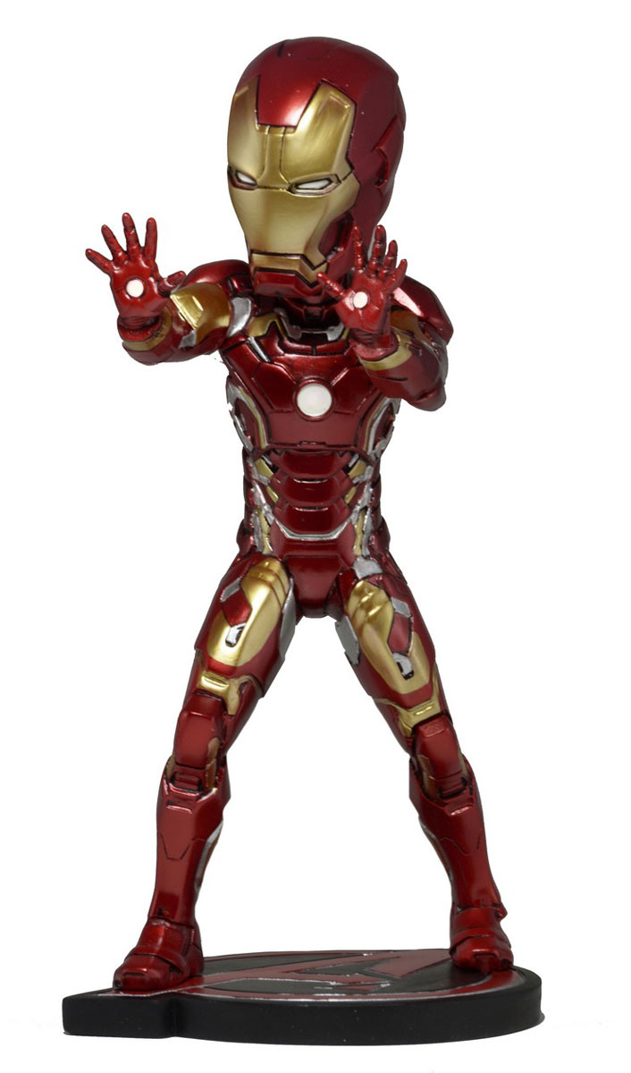 Фигурка Head Knocker Avengers Age of Ultron Iron Man avengers age of ultron iron man hulk vision ultron war machine pvc action figures toys with led light 5pcs set