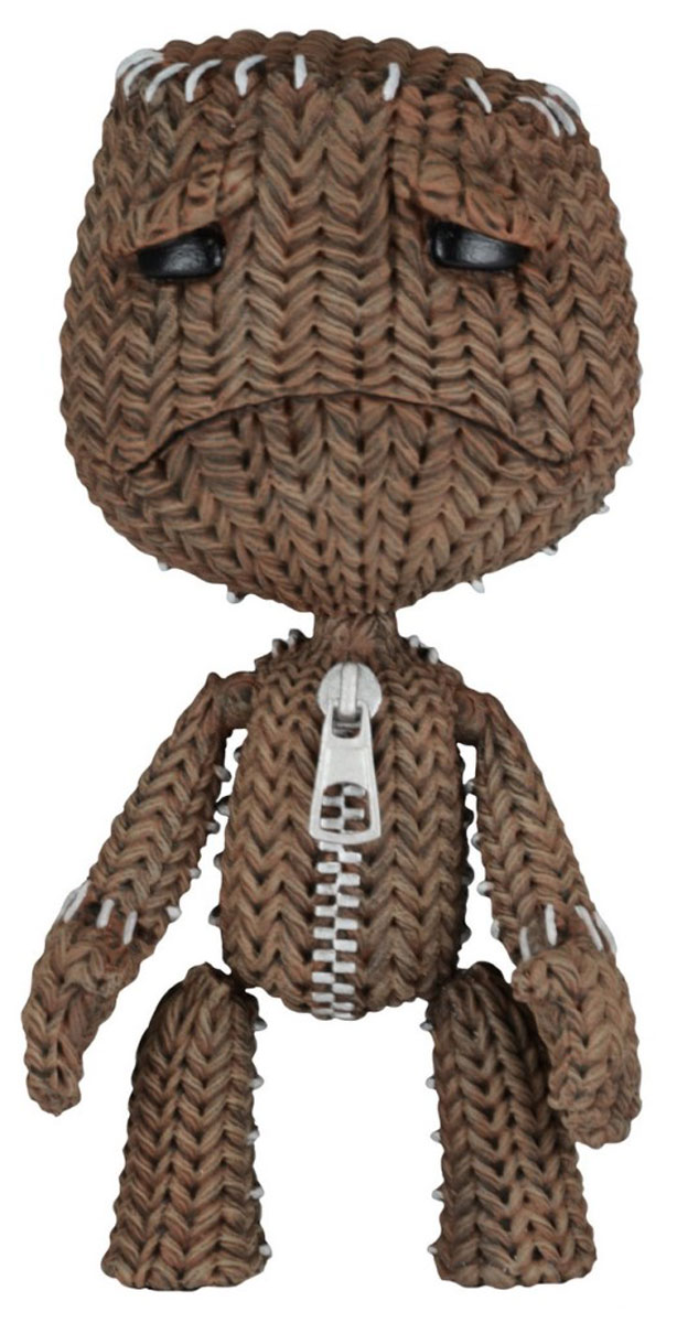 Фигурка LittleBigPlanet Sackboy Sad 13 см littlebigplanet 3 ps3