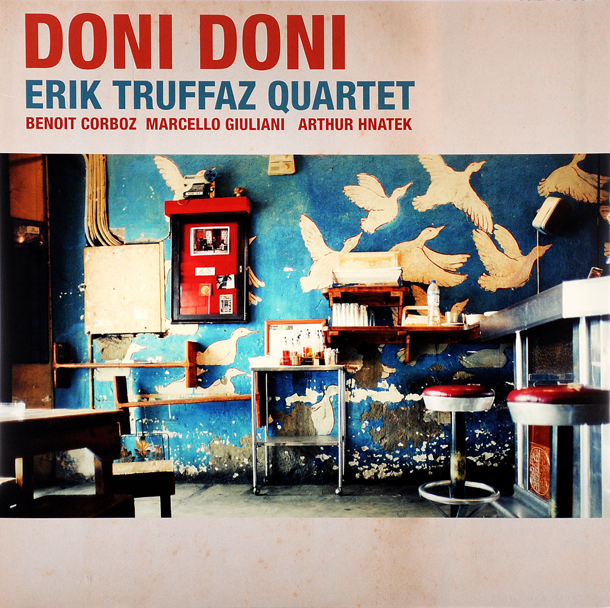 Erik Truffaz Quartet Erik Truffaz Quartet. Doni Doni (LP) lp cd erik truffaz the mask