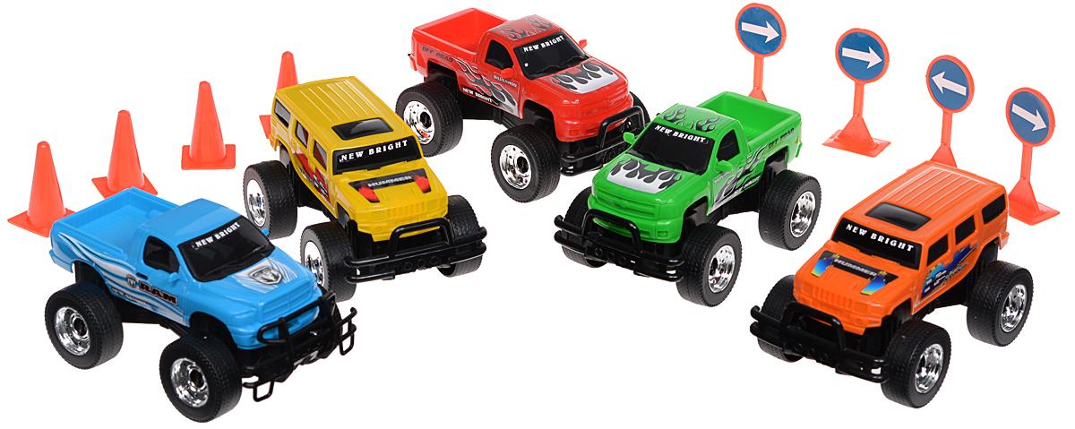 New Bright Игровой набор Wheels new bright new bright радиоуправляемые машинки corvette z06 на р у